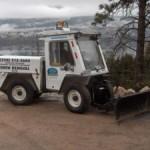 Bombardier Sidewalk & Driveway Plow