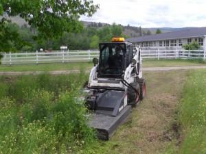 Bobcat Brush-Cat Power Mower